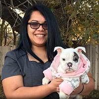 Tiffany Valentin, Veterinary Technician